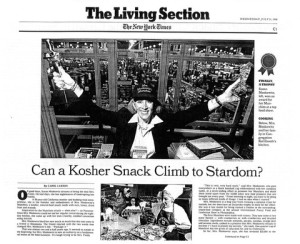 Susan was written up in the New York Times in 1996